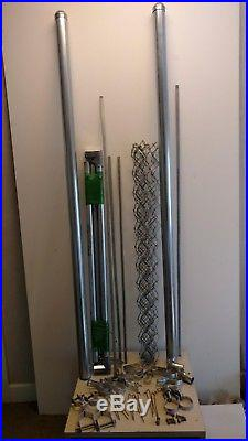 Add A Gate to your chain link fence KIT 4' Everything needed Do it yourself