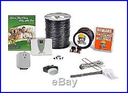 Extreme Dog Fence DIY Inground Fence for Dogs Complete Static Electric Fence Kit