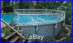GLI Above Ground Pool Fence Base Kit 8 Section 8-section (8-section)