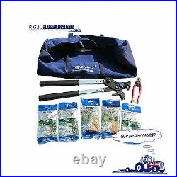 Gripple Fencing Repair Kit With Contractor Tool and Gripple Wire Cutters