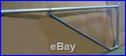 NO-CUT NO-WELD TRAFFIC BARRIER GATE KIT EXTENDABLE 6'-12' Vehicle triangle