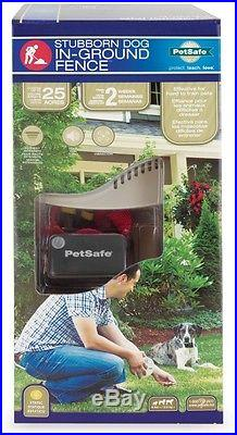 PetSafe In-Ground Fence Kit Stubborn Dog Hearing-impaired Receiver Collar