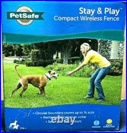 PetSafe Stay & Play Compact Wireless PIF00-12917 Dog Electric COMPLETE FENCE KIT