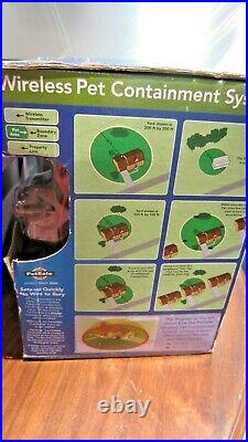 PetSafe Wireless Fence Pet Dog Containment System Kit Covers under 1/2 Acre