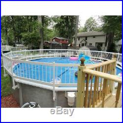 Premium Guard Above Ground Pool Safety Fence Base Kit A (8-Fence Spans)