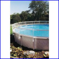 Sturdy Above Ground Pool Safety Fence Gate Privacy Round Protect Kids Pets Dogs