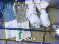 ULTIMATE Leon Paul Epee Fencing kit age 10-14 Excellent condition LOTS NEW