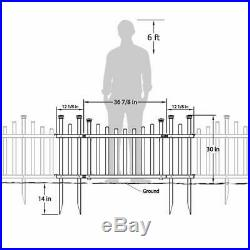Zippity Outdoor Products Zp19028 Unassembled Madison Vinyl Gate Kit With Fence W